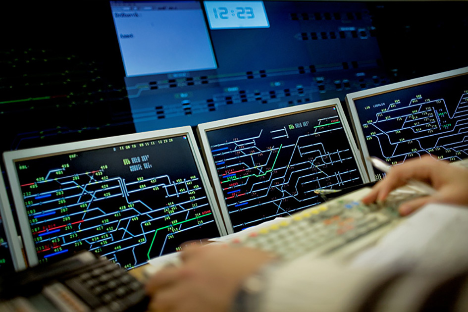The new system for remote management of train traffic is part of Bane NOR's 20 billion kroner investment to modernize the railway over the next ten years (Photo: Hilde Lillejord/Bane NOR)