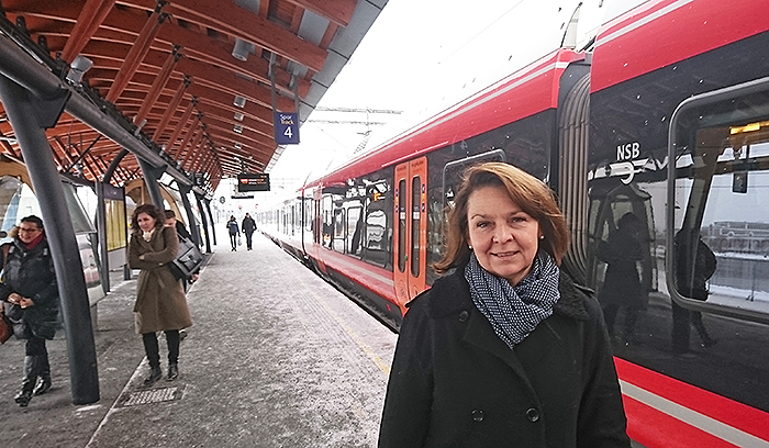 Prosjektdirektør for InterCity, Anne Siri Haugen.